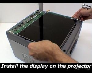самодельный проектор из монитора