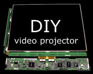 Проектор из TFT монитора (подробный видеоролик изготовления)