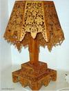 Лампа из фанеры сделай сам