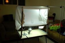Самодельный дешевый фото-стол