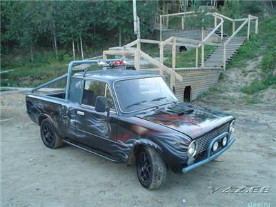 Отечественный автопром после тюнинга.