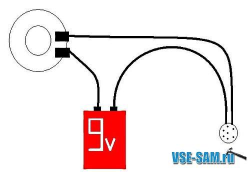 схемы прикольных электронных