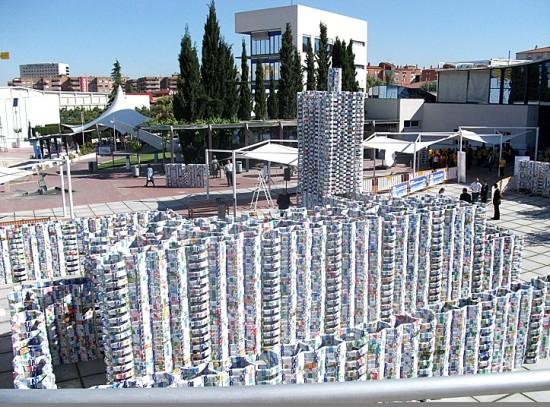 DataLife Engine Версия для печати Город из коробок от молока.