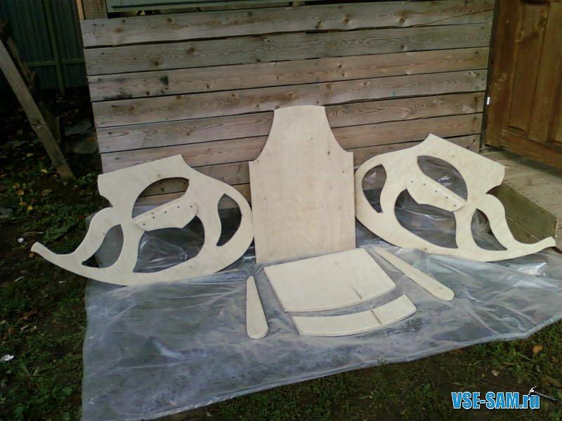 Схема качалка кресло