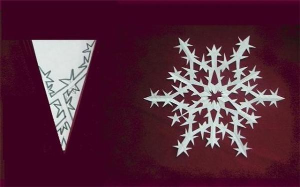 Схемы бумажных снежинок к Новому году. wpid-h03P1GYmsBY.jpg - Гороскоплет.