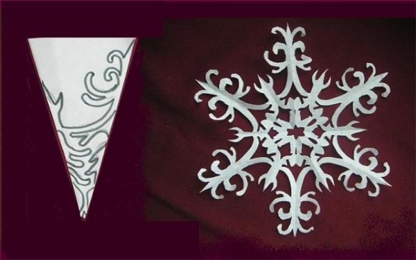 Чтобы в вашем новогоднем декоре тоже не было снежинок-близняшек...  Снежинки из бумаги: схемы для распечатывания.