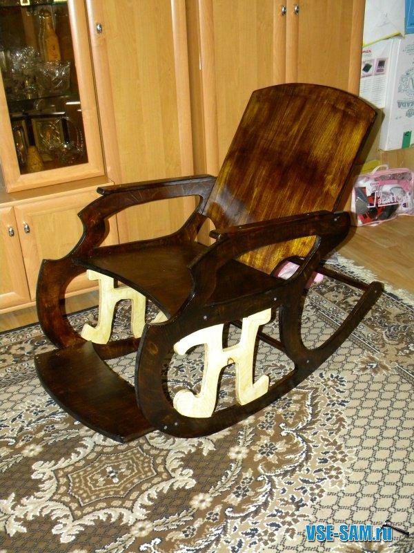 Кресло качалка из фанеры своими руками фото