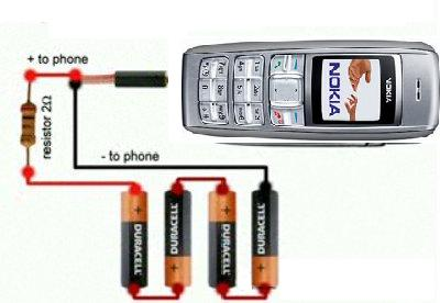эл схема зарядного для моб телефона - Практическая схемотехника.